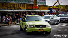Boro Taxi (Sandman Design) Tags: canon t3i streetphotography dslr boro taxi green cab crown victoria ford panther tlc