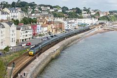 43188 (Geoff Griffiths Doncaster) Tags: 43188 gwr hst livery green dawlish sea devon railway