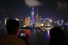 Shanghai by night (Anders Sellin) Tags: bund china hyatt kina shanghai thebund hotel natt night utsikt view