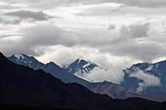 Denali NP ~ dramatic clouds (karma (Karen)) Tags: denalinp alaska tundrawilderness usparks mountains clouds topf25