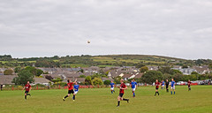 Redruth United 2, Penryn Athletic 1, Cornwall Combination League, August 2016 (darren.luke) Tags: cornwall cornish football landscape redruth fc penryn nonleague grassroots