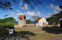 The church on the island Christians, Denmark (Bochum1805) Tags: ertholmene church kirche kyrka christians denmark danmark thebalticsea stersjn nordiskruinseminar2016