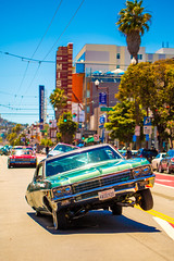 Life in the Mission (Thomas Hawk) Tags: america california flickrphotowalk kingofthestreets mission missiondistrict photowalk sanfrancisco sanfranciscolowridercouncilkingofthestreet usa unitedstates unitedstatesofamerica westcoast auto automobile car lowrider fav10 fav25 fav50 fav100