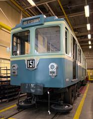 Mre-Grand (Infraordinaire.com) Tags: mtro mtropolitain parisien paris chemindefer train motrice mp51 prototype pneumatiques grandmre france ratp
