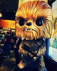 chewie on guard duty (Luckykatt) Tags: chewbacca starwars chewie wookie boxlunchgifts