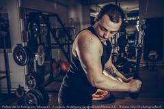 Eric (sebastienloppin) Tags: musculation fitness sport workout portrait muscle flash strobist hdr nohdr lightroom preset canon 60d eos 1855