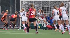 19111757 (roel.ubels) Tags: hoofdklasse hockey fieldhockey oranje rood amsterdam ahbc eindhoven sport topsport 2016