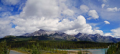 20160903_003pa (mckenn39) Tags: mountain landscape nature water river banffnationalpark canada alberta panorama rockymountains canadianrockies