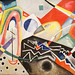 Zig Zag blancs de Vassily Kandinsky (Ca' Pesaro, Venise)
