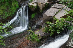 Rensselaerville Falls (fotofish64 (back after summer break)) Tags: rensselaerville rensselaervillefalls waterfall water falls enhuyckpreserve naturepreserve hiking nature capitaldistrict newyork rural geology pentax pentaxart pentaxcamerautility smcpentaxa28mmf28 ks2 kmount green color landscape