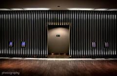 Portal (Alex Chilli) Tags: london openhouse 2016 portal door wall chrome lights floor wood future futiristic spaceage canon eos empty