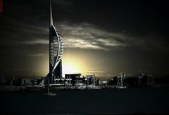 Spinnaker Tower Portsmouth Harbour UK (CreatureStream) Tags: spinnaker tower portsmouth harbour uk