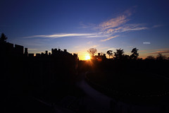 Sunset Warwick Castle (Hipwell Photography) Tags: sunset castle canon landscape 7d warwick 1022mm warwickshire warwickcastle canon7d