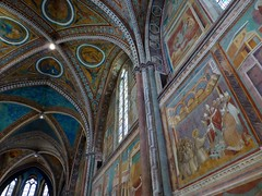 Frescoes by Giotto in the Basilica of San Francesco d'Assisi,  Assisi, Italy (Frans.Sellies) Tags: world italien italy heritage church de la site italia unescoworldheritagesite unesco worldheritagesite list unescoworldheritage assisi italie umbria sites worldheritage weltkulturerbe whs humanidad patrimonio worldheritagelist welterbe umbrien kulturerbe patrimoniodelahumanidad umbri heritagesite unescowhs ph442 patrimoinemondial werelderfgoed vrldsarv  heritagelist werelderfgoedlijst verdensarven wolrdheritagelist    patriomoniodelahumanidad    patriomonio p1020022