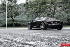 Audi R8 - VVSCV4 (VossenWheels) Tags: european euro wheels deep exotic audi supercar graphite matte concave r8 machined vossen cv4 vvscv4