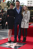 Anne Hathaway, Hugh Jackman, Amanda Seyfried Hugh Jackman is honoured with a Hollywood Star on the Hollywood Walk of Fame Los Angeles, California