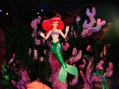 Ariel (Elysia in Wonderland) Tags: world new red sea ariel coral ride little magic under kingdom disney mermaid fantasyland