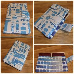 Passport holder - At the Airport (ebygomm) Tags: airport fabric passport spoonflower