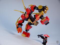 70500.10 (porschecm2) Tags: fire lego review mech kais 2013 70500 ninjago