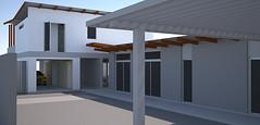Courtyard House, Houston, TX by Ambrose + Sabatino