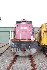 4805 (LC1073) Tags: locomotive alco 4805 broadmeadow dieselelectric nswgr railcorp 48class broadmeadowloco rpaunsw48class railpage:class=55 rpaunsw48class4805 railpage:loco=4805 transportheritagensw thnsw transportheritagenewsouthwales