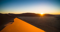 "Sunset at Dune 45 Sossusvlei Namibia • <a style=""font-size:0.8em;"" href=""https://www.flickr.com/photos/21540187@N07/8292722238/"" target=""_blank"">View on Flickr</a>"
