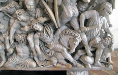 Ludovisi Battle Sarcophagus, lower right