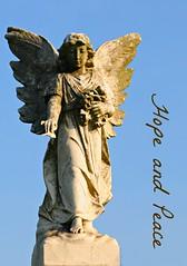 Merry Christmas My Dear Friends (floralgal) Tags: christmas love statue angel wings god faith holy angelstatue godly hopeandpeace findyourwings