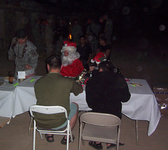 Christmas in Tikrit (California Will) Tags: 2005 christmas iraq cob speicher tikrit oif operationiraqifreedom