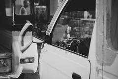 reflection (augusteightyfour) Tags: street city reflection photography mirror cebu jeepney cebusugbo canon50d flickraward
