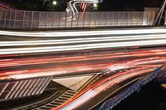 Rush Hour II (Frenklin) Tags: auto road longexposure holland cars netherlands carr highway traffic nederland le rush hour rushhour autos groningen a7 e22 weg druk snelweg lange spits n7 verkeer sluitertijd 70210mm wegderverenigdenaties ringweg paterswoldseweg julianaplein ringgroningen laanvandevrede zuidelijkeringweg