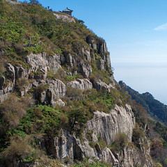 Taishan Mountain in Tai'an City, Shandong Province, China /   China Tourism / SML.20121011.7D.09612 (See-ming Lee  SML) Tags: china travel sky mountains tourism nature cn landscape photography rocks boulder squareformat  qingdao  sq      2012 shandong     taishan   taian  sml    canon2470f28l  ccby chinatourism smlprojects canon7d smlphotography photographer:initials=sml photographer:name=seeminglee company:name=smlphotography company:name=smluniverse SML:Projects=sq smltravel SML:Travel=qingdao SML:Projects=chinatourism SML:Projects=landscape SML:Projects=smltravel