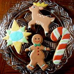 Custom Christmas cookies