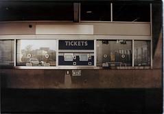 Blue Jays (jj.CHAU) Tags: toronto tickets bluejays 2012 ticketbooth rogerscentre colorfilm colourfilm