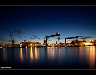 weihnachtliche Werft