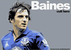 Baines (additional Knowledge) Tags: england sky art sports modern hair design football mod modernism style international left premier additional 2012 efc baines premiership defender everton toffees