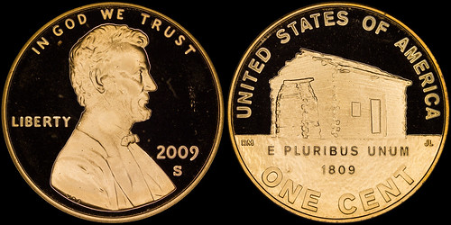 2009-S Proof Lincoln Bicentennial Cent