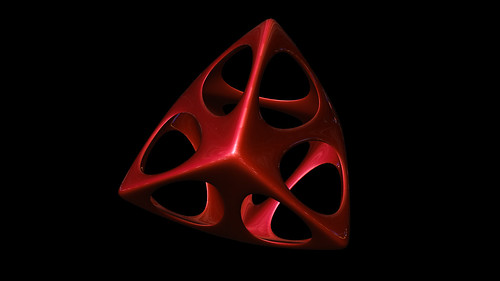 """tetrahedron spiky soft • <a style=""""font-size:0.8em;"""" href=""""http://www.flickr.com/photos/30735181@N00/8325425203/"""" target=""""_blank"""">View on Flickr</a>"""