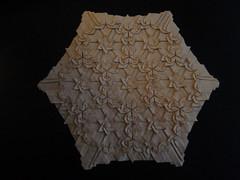 White Death (Monika Hankova) Tags: paper origami tessellation rhombic hankova