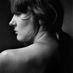 Erica_Jay_80s_Test_011 (patofoto) Tags: blackandwhite bw woman 6x6 film nude square hasselblad squareformat artisticnude digitalnegative femenine hasselblad203fe