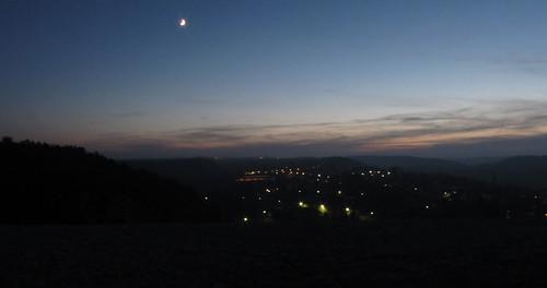 Mansfeld bei Nacht