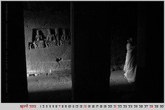 april 2013, wallpaper calendar (photographics by nevil zaveri) Tags: world desktop travel light wallpaper people blackandwhite bw sculpture woman india heritage tourism monochrome rock photography blog women photographer calendar photos interior stock pillar columns free images carving unesco caves photographs photograph april maharashtra column months myfamily shiva hindu zaveri saree month sculptures shiv basalt stockimages travelogue ellora nevil rockcut downloadable freedownload 2013 theverybestofme nevilzaveri aetrip