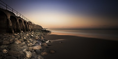 folkestone (richard carter...) Tags: longexposure sunset sea beach canon kent arches blah meh happynewyear folkestone 1635 andalltherest eos5dmk2 myoraclelivesuptown