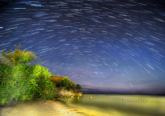 Calatagan, Batangas, Philippines (Tomasito.!) Tags: nightphotography beach night wonderful star amazing nice nikon philippines trail galaxy universe startrails tomasito d700 jtnoriega mygearandme