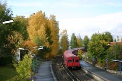 T-banen i Oslo (Andreas Viseth) Tags: bler bogerud tbane ulsrud skyensen skullerud tbanen mortensrud godlia oppsal stensjbanen