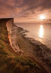 Beachy Head - Winter Sunrise (JamboEastbourne) Tags: park england cliff sunrise downs sussex chalk head south east national beachy