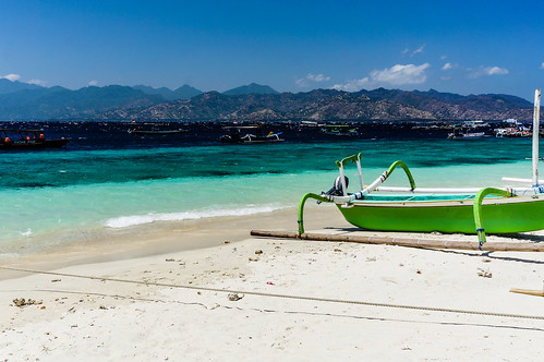 Beach of Gili Trawangan