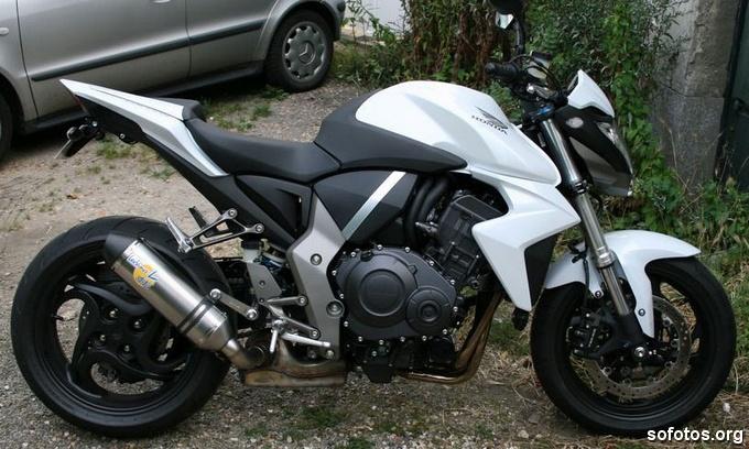 Honda CB 1000R Branca