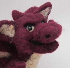 Red Dragon (Elven Artist) Tags: cute felted dragon felting artdoll needlefelted gameofthrones elvenartistsforest wwwelvenartistsforestcom httpelvenartistsforestcom httpelvenartistsforestcomdragonfeltedneedlefeltedgameofthronesthehobbitcutedoll