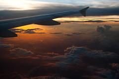 IMG_0311 (riconaranjo) Tags: sunset sky clouds airplane atardecer colombia view aircraft flight wing aerial cielo ala nubes vista ocaso avion vuelo aerea aeronave